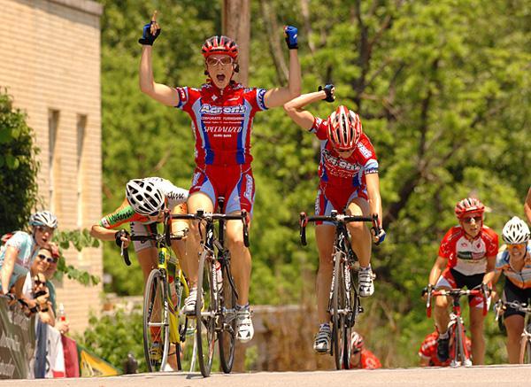 Kat Carroll (Aaron's) wins Joe Martin Stage Race, 2007