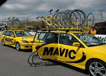 Mavic Cars 2 & 3, Tour de Georgia 2005