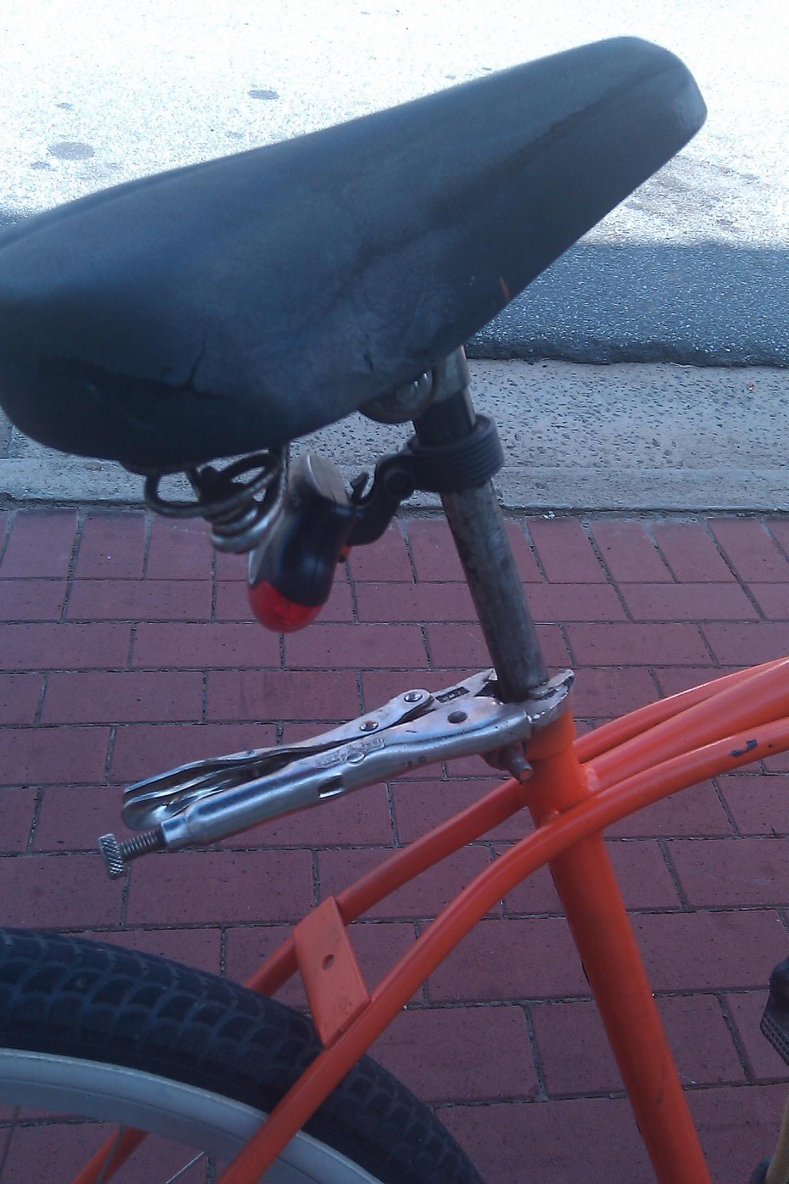 DIY Seatpost Clamp