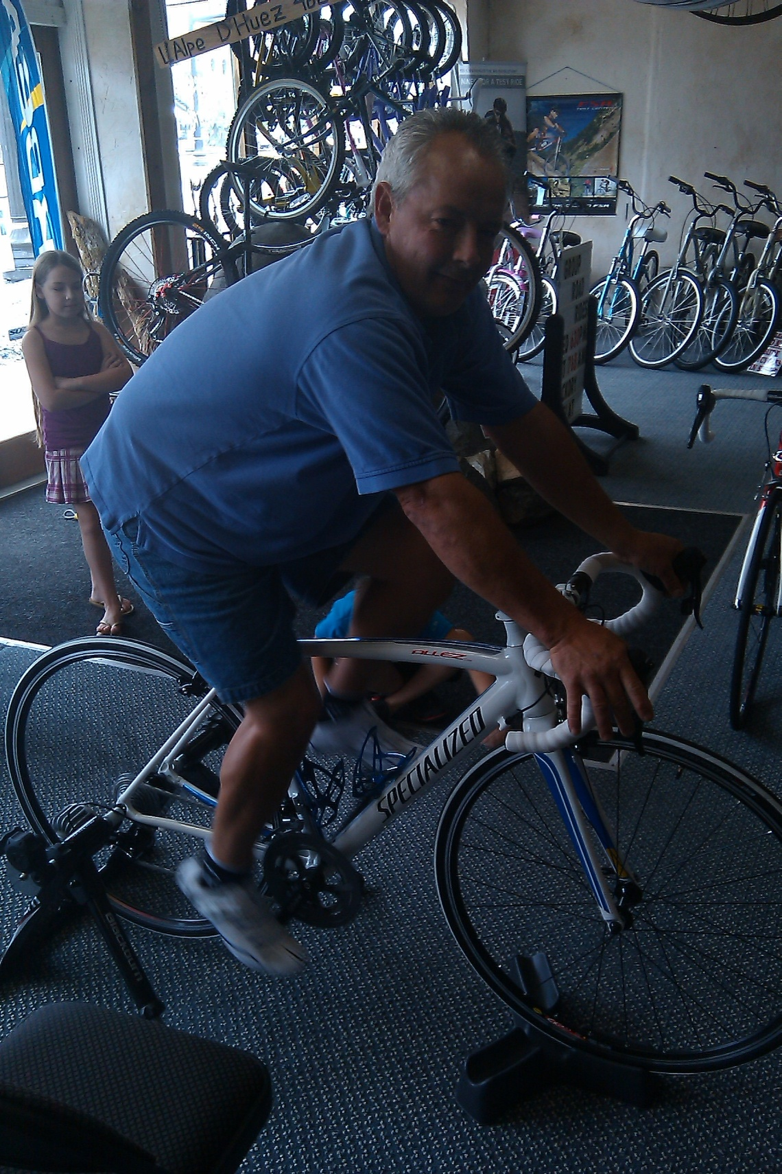 Tim and His 2011 Specialized Allez Comp
