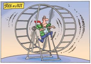 stuck-in-a-rut